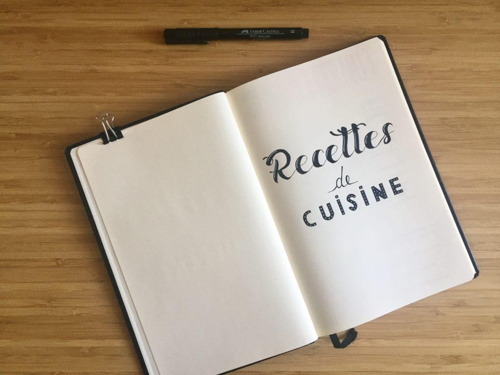 Mon Miam Book Carnet De Cuisine Caro De La Papet